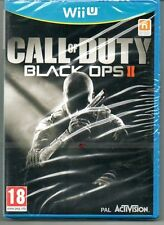 "Call OF DUTY BLACK OPS II (2) ""NUOVO & Sealed' * Wii U *"