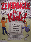 New! Zentangle for Kids A Comic Guide Learn to Draw 19 pg Design Originals Book