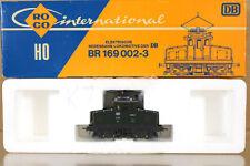 ROCO 4128A DB GREEN 0-4-0 CLASS BR 169 002-3 E-LOK LOCO MINT BOXED ni