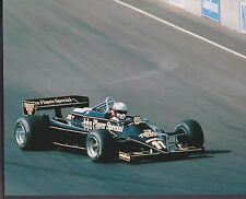 Elio de Angelis Lotus-Ford 23RD  F1 US GRAND PRIX 1981 8 X 10 PHOTO 1