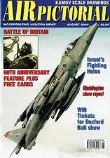 AIR PICTORIAL AUG 2000: KAMOV Ka-27 SCALE PLANS/ BoB PICS/ISRAELI DF HELICOPTERS