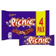 Cadbury Picnic Chocolate Bars 4 Pack, 152 g