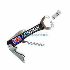 Waiter's Friend Drinks Wine Corkscrew Bottle Opener London Souvenir England Gift