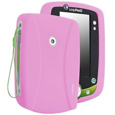 Baby Pink Rubber Gel Skin Soft Case Cover For Leap Frog LeapPad 2 Explorer