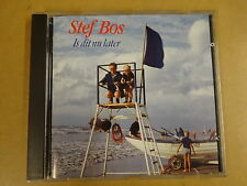 CD / STEF BOS - IS DIT NU LATER