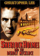Sherlock Holmes and the Deadly Necklace (DVD) Christopher Lee NEW
