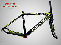 "Rennrad Rahmenset Carbon Corratec CCT PRO ""Team Nutrixxion"""