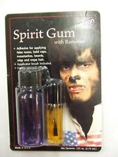 Mehron Spirit Gum And Remover Set ~ Make-up ~ Prosthetic Glue ~ Theatrical