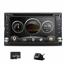 Radio for Nissan Dash Car GPS CD DVD Player Touch Bluetooth 2 DIN Stereo Camera
