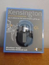 Kensington Microsaver Keyed Retractable Notebook Lock New In Package K64538US