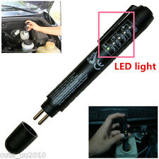 Car 5LED Indicator Brake Fluid Oil Tester Detection Pen Auto Test Tool Vehicle