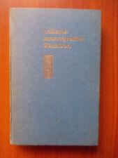 COLLANA MONOGRAFICA ZAMBON N.10 Interpretazioni chimicocliniche 1966