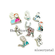 10pcs Floating charms For Glass living memory Locket Free shipping FC492