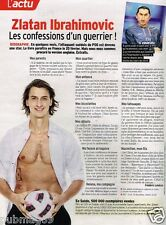 Coupure de Presse Clipping 2012 (1 page) Zlatan Ibrahimovic