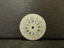ancien cadran emaillé montre a gousset 2,4 cm 3