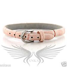 """Ladies 8"""" Belt Style Bangle Bracelet No Stone OT569"""