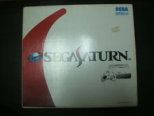 Sega Saturn Console HST-0019 New Package White JAPAN *GREAT COND 100% BOXED*