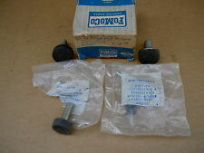 57-59 Ford Retract & Convertible rubber bumpers, B5A-16769-A, NOS/NEW
