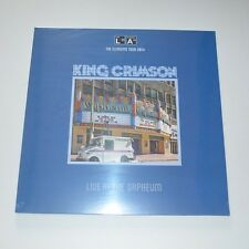 KING CRIMSON - LIVE AT THE ORPHEUM 2014 - LTD. EDITION LP NEW & SEALED
