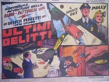 Radio Pattuglia Albo Avventure n°28 1947 Delitti perfetti ed. Capriotti  [G318]