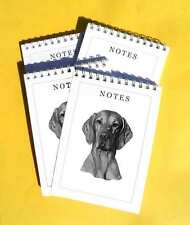 Hungarian Vizsla Pack of 4, A6 Dog Note Pads Gift Set