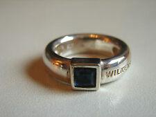 Wilkens, bel zaffiro-ring, 925, 11,28 grammi, dimensioni 55, più