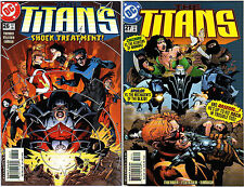 The Titans 26 27 DC Comics estados unidos 2001 Jay Faerber Paul pelletier with Nightwing