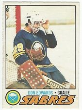 1977-78 OPC HOCKEY #201 DON EDWARDS ROOKIE - EX+/NRMT-