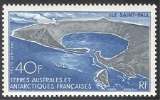 FSAT/TAAF 1968 Saint (St) Paul Island/Ship/Volcanoes/Transport 1v (n29327)