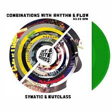 "Combinations With Rhythm and Flow Skipless Scratch Vinyl Cut and Paste 7"" Green"