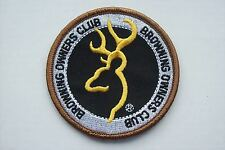 Clay pigeon , Browning owners club , shooting , hunting , fishing  badge patch