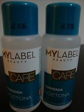 2 X Smoothed ACETONE NAIL POLISH REMOVER ** MYLABEL ** fantastic price ** 500ml