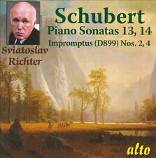 NEW Schubert: Piano Sonatas Nos. 13 & 14; Impromptus by Sviatoslav... CD (CD)