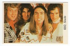 1970s Swedish Pop Star Card #692 Glam Rock Band Slade Noddy Holder Dave Jim Don