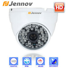 Jennov Wide angle CCTV 2.8mm 1200tvl waterproof safe guard Dome Security Camera