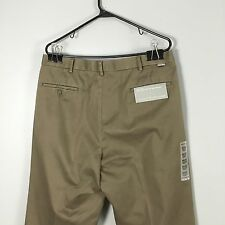 NWT Dockers Legacy Khaki Pleated Olive Green Dress Pants Mens 36 x 30 #3