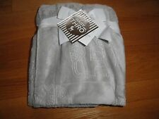 Thro by Marlo Lorenz Baby Security Blanket Gray Elephants Thick & Soft NWT