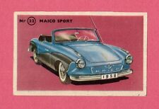 Maico Sport Vintage 1950s Car Collector Card from Sweden