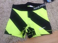 WOMENS NIKE PRO CORE SHORTS compression CROSSFIT TRAINING  SMALL DRI-FIT pink