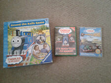 Thomas Tank Engine Game Round The Rails & DVD Great Engine - Calling All Engines