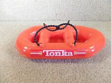 Tonka Mighty Motorized Heavy Fire Rescue Truck Safety Raft Boat Skiff w/ Straps