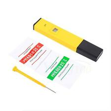 Professional Electric PH Meter Tester Pen Set Soil Hydroponics Water Laboratory