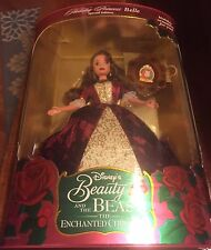 1997 BEAUTY AND THE BEAST THE ENCHANTED CHRISTMAS HOLIDAY PRINCESS BELLE BA