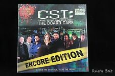 CSI The Board Game Encore Edition Brand New Sealed