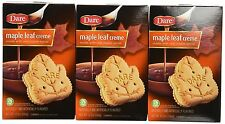 Dare Foods Maple Leaf Creme Cookies 3 /12.3oz Boxes  - Ships FREE