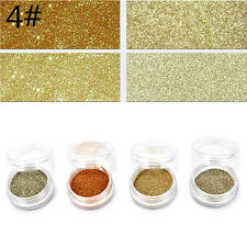 4pcs/set Color Mixed Eye Shadow Makeup Powder Pigment Mineral Eyeshadow Fashion