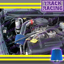 97 98 99 00-03 DODGE DAKOTA/DURANGO 3.9L V6 5.2L 5.9L V8 AIR INTAKE KIT Red Blue