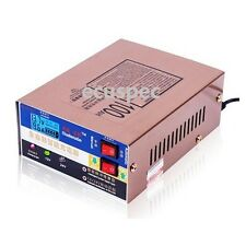 110/220V Intelligent Pulse Repair Car Motorcycle Battery Charger 12V/24V 100AH