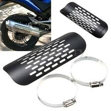 Universal Motorcycle Exhaust Muffler Pipe Heat Shield Cover Guard For Harley New