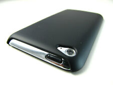 BLACK ULTRA THIN SLIM REAR HARD CASE COVER APPLE IPOD TOUCH 4 4TH GEN ACCESSORY